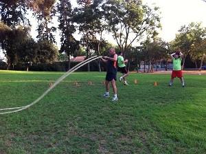 אימון כושר קבוצתי - בוטקאמפ באימון משולב